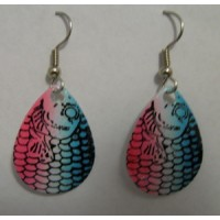 Crystal Rainbow Trout Earrings